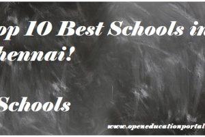 best schools in chennai