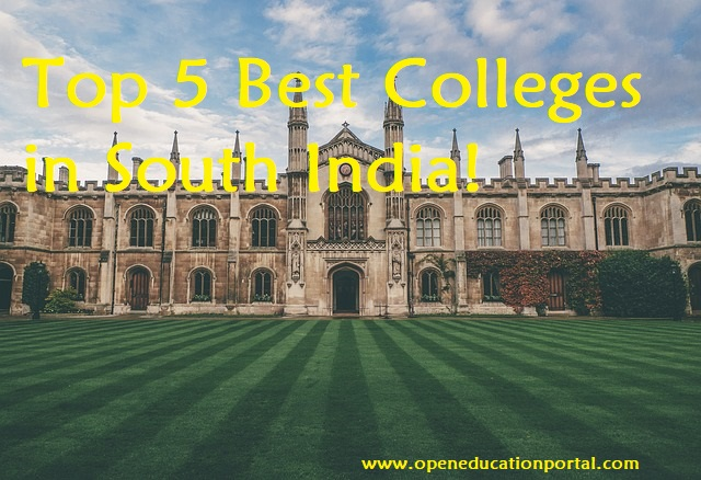 top colleges in south india