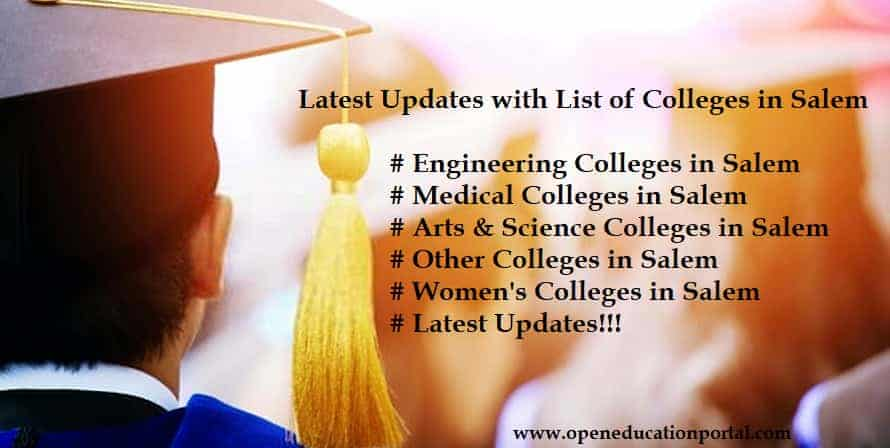 Colleges in Salem