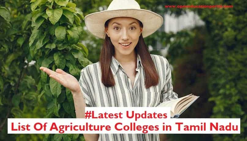 bsc agriculture colleges in tamilnadu