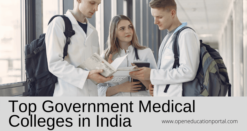 Top Government Medical Colleges in India