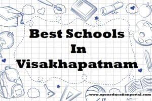 Best Schools In Visakhapatnam