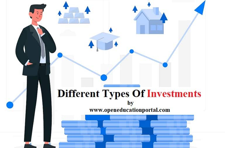 Different Types Of Investment