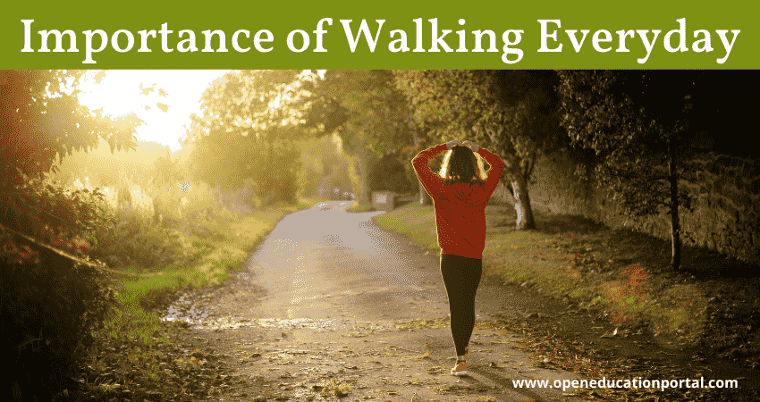 Importance of Walking Everyday