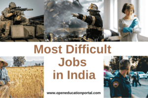 Most Difficult Jobs in India