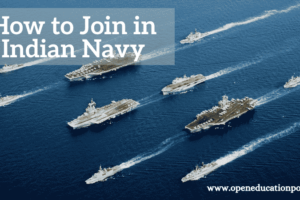 How to Join in Indian Navy