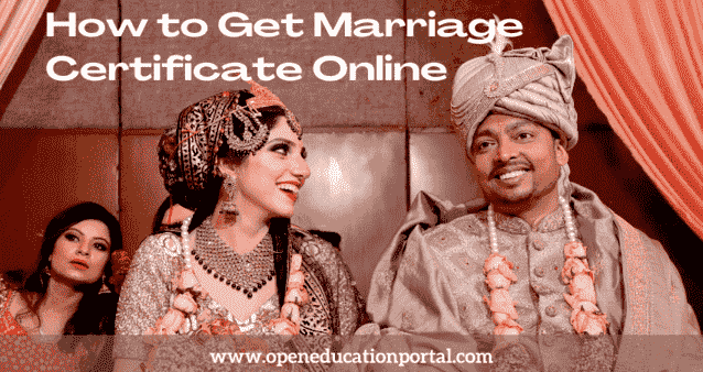 How to Get Marriage Certificate Online